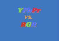 YPbPr vs RGBnew