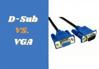 D-Sub vs VGA